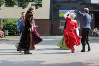 Tanzen an einer Stolberger Grundschule 2013