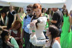 Tanzen auf dem Epochenfest in Jülich 2013